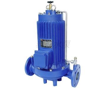 屏蔽式增压泵